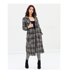 NWT Delphine The Label Swan Song Coat